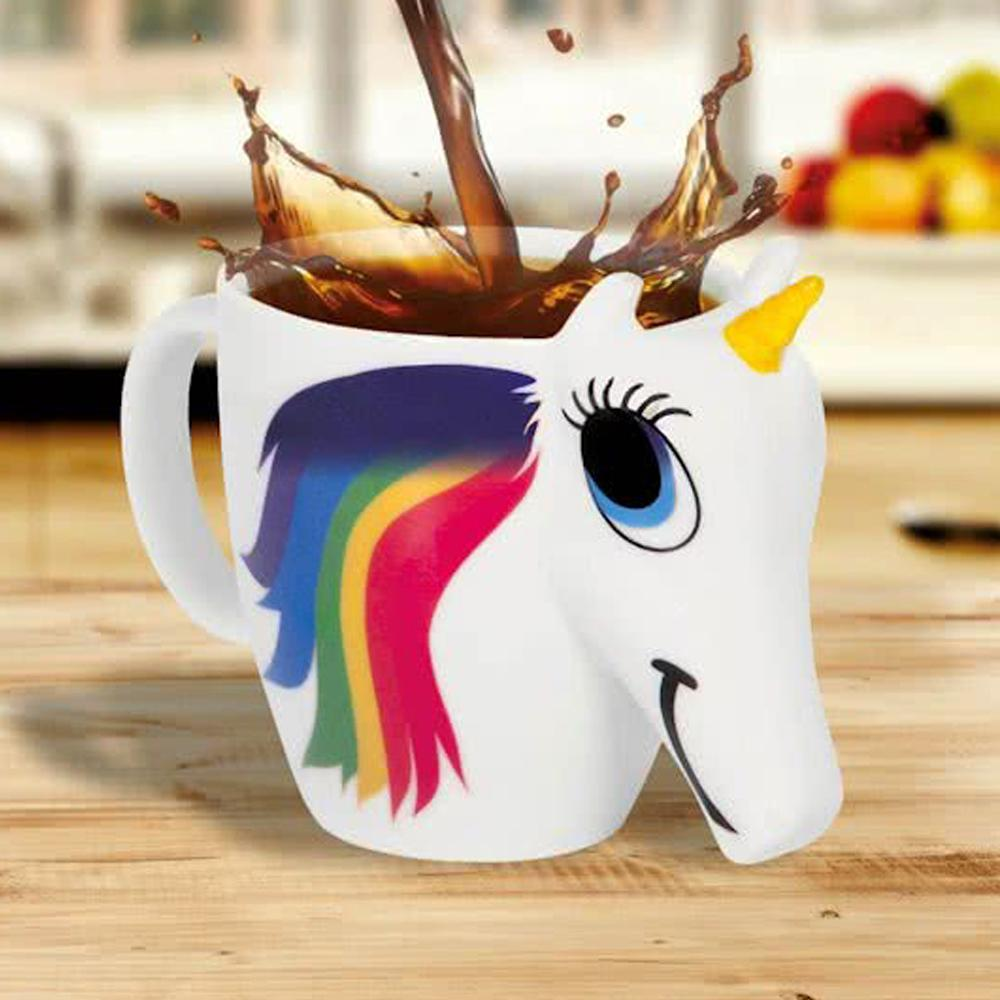Unicorn color changing Mug Christmas Gift