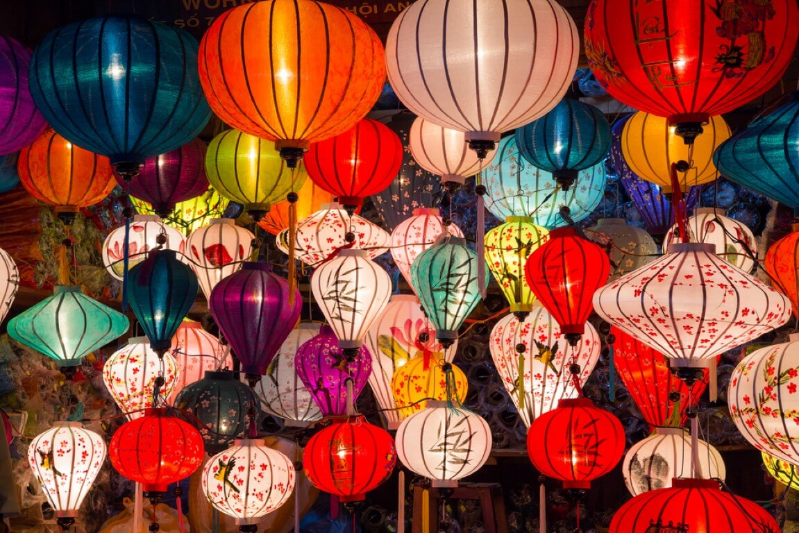 Lanterns to Celebrate the new Year