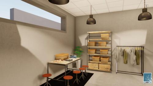 Welcoming single ensuite bedroom in a residence, in Isla de La Cartuja  - Gallery -  3