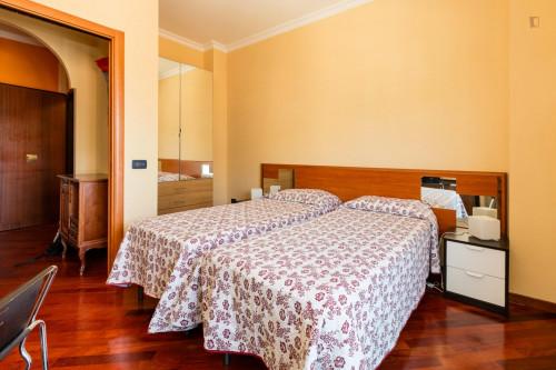 Wonderful twin bedroom within reach of Sapienza Università di Roma  - Gallery -  1