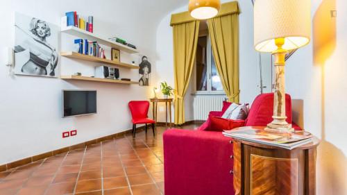 Vintage 1-bedroom apartment near Parco del Colle Oppio  - Gallery -  4