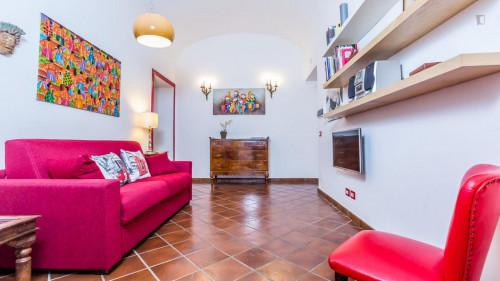 Vintage 1-bedroom apartment near Parco del Colle Oppio  - Gallery -  8