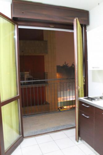 Very neat single bedroom in 3-bedroom flat, near Bicocca  - Gallery -  1