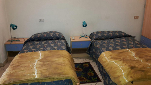 Single bed in nice twin bedroom in Saffi