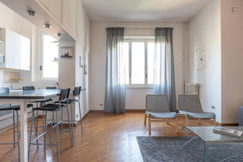 Well-lighted 1-bedroom flat near Bande Nere Metro  - Gallery -  8