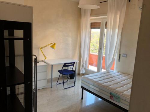 TRASTEVERE - Graziosa stanza singola, con balcone, vicino la stazione  - Gallery -  1
