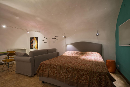 Warm and pleasant studio apartment in the central Rione I Monti neighbourhood  - Gallery -  1
