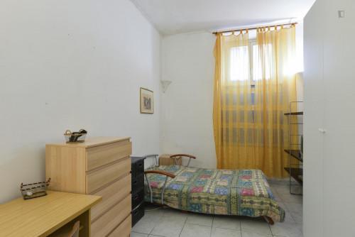 Very nice single bedroom close to the Furio Camillo metro  - Gallery -  2