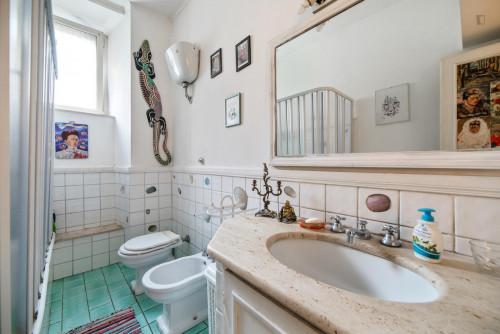 Very nice single bedroom close to the Furio Camillo metro  - Gallery -  9