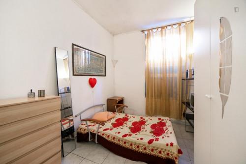 Very nice single bedroom close to the Furio Camillo metro  - Gallery -  1