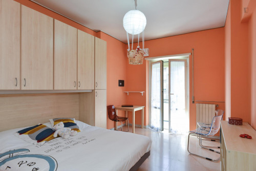 Welcoming double bedroom near Prenestina train station  - Gallery -  1