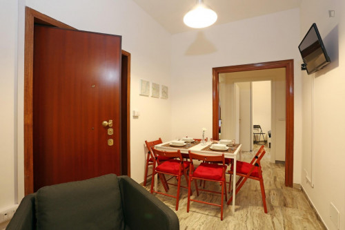Well-lit double bedroom close to the Stadio Olimpico  - Gallery -  7