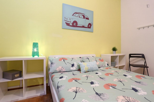 Well-lit double bedroom close to the Stadio Olimpico  - Gallery -  5