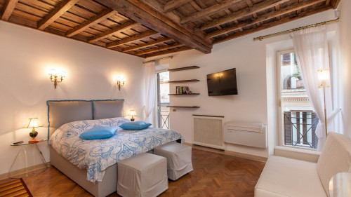 Stunning studio with a lovely balcony view, in Centro Storico  - Gallery -  1