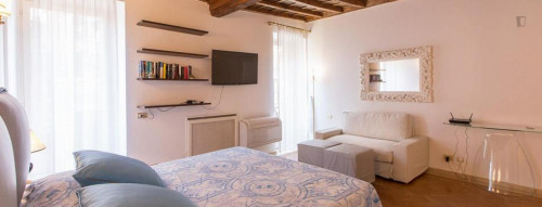Stunning studio with a lovely balcony view, in Centro Storico  - Gallery -  3