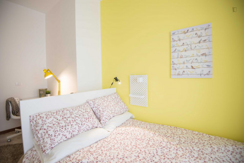 Well-lit double bedroom in Turin  - Gallery -  3