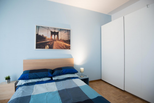 Well-lit double bedroom in Turin  - Gallery -  2
