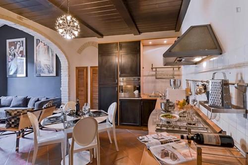 Wonderful 2-bedroom apartment close to Basilica di Santo Spirito  - Gallery -  7