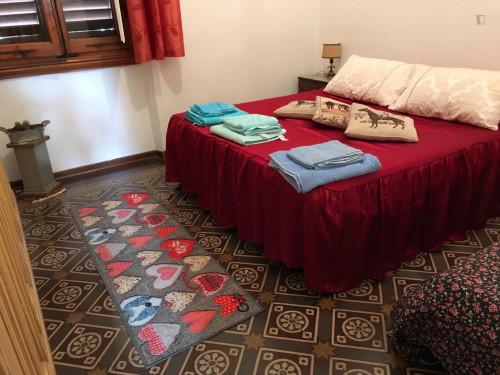 Double bedroom in 2-bedroom house