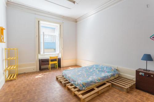 Welcoming double bedroom close to Universidade do Porto  - Gallery -  1