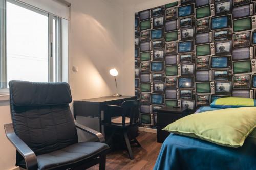 Tasteful single bedroom near Universidade Autónoma  - Gallery -  1