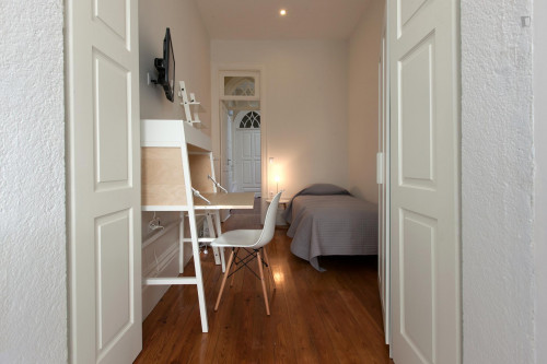 Superb Single Bedroom Private Bathroom 2 mins from 24 de Agosto Metro station  - Gallery -  2