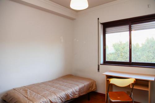 Suitable single bedroom in a 5-bedroom apartment, next to Universidade de Coimbra  - Gallery -  1