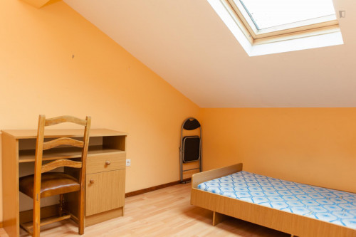 Comfy single bedroom in a flat near Museu da Ciência da Universidade de Coimbra