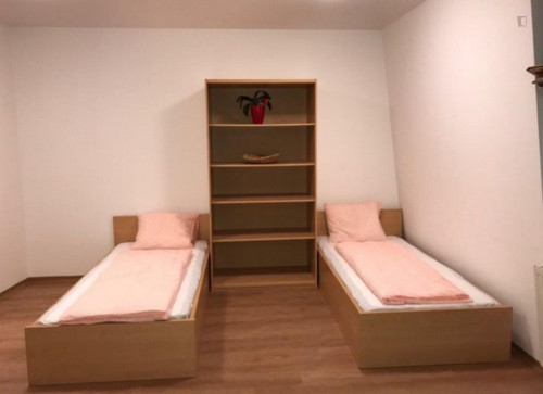 Single Bed in a twin bedroom, in a residence near Veterinärmedizinische Universität Wien