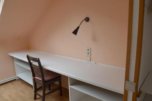 Wonderful studio in a residence near Robiano tram stop