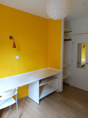 Studio in a residence, in Schaerbeek  - Gallery -  2