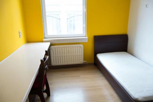 Homely studio in a residence, in Schaerbeek