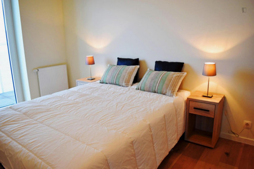 Modern 1-bedroom apartment near Park Spoor Noord