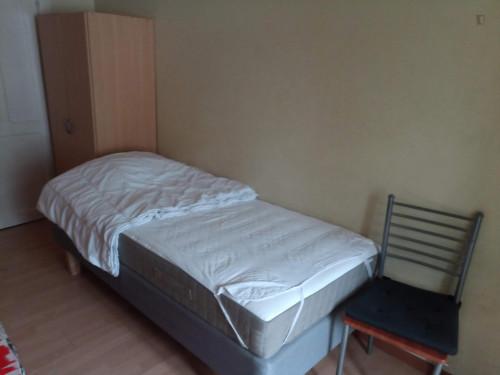 Bedroom in a residence, in Saint-Josse-ten-Noode