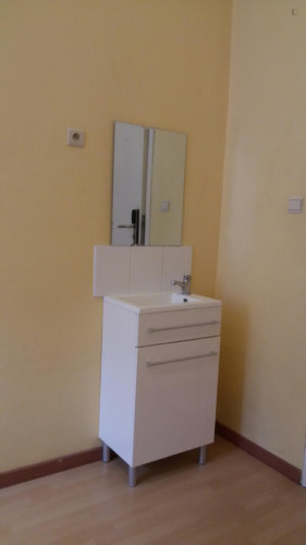 Amazing single bedroom in a residence near Botanique metro station