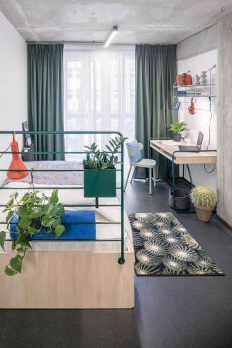 Nice studio in a residence, in Śródmieście