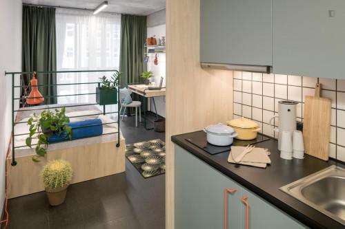 Nice 1-bedroom flat in a residence, in Śródmieście
