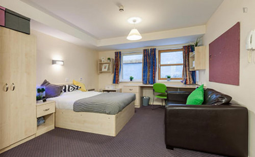 Very cool double ensuite bedroom in a residence, near the University of Aberdeen  - Gallery -  3