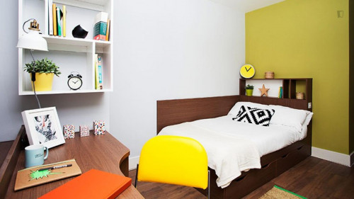Very nice double ensuite bedroom in a residence, near the University of Edinburgh  - Gallery -  2