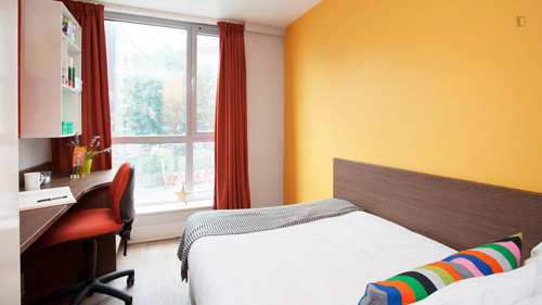 Very nice double ensuite bedroom in a residence, near the University of Edinburgh  - Gallery -  1
