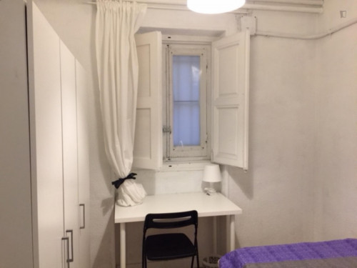 Welcoming single bedroom in a student flat, in Argüelles  - Gallery -  1