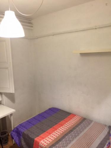 Welcoming single bedroom in a student flat, in Argüelles  - Gallery -  2