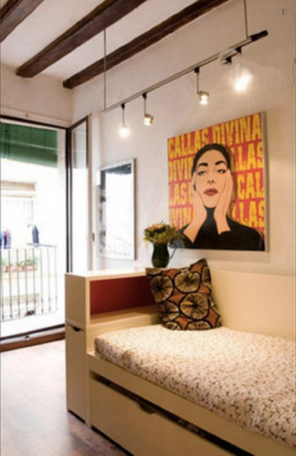 Welcoming 1-bedroom flat in El Raval  - Gallery -  2