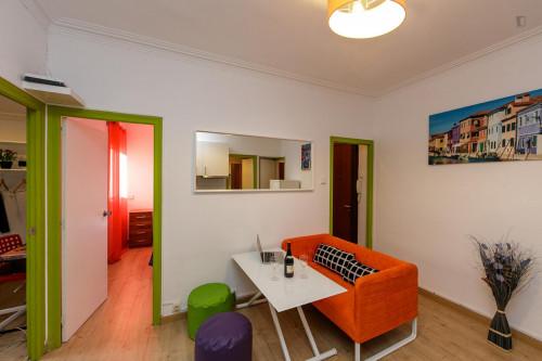 Very nice double bedroom near the Virrei Amat metro  - Gallery -  7