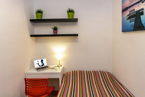 Very nice double bedroom near the Virrei Amat metro  - Gallery -  4