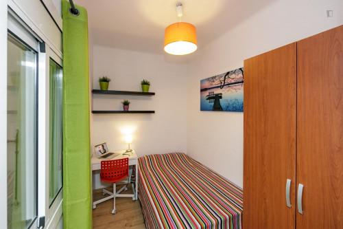 Very nice double bedroom near the Virrei Amat metro  - Gallery -  1