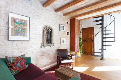 Warm and classy duplex in El Raval  - Gallery -  5