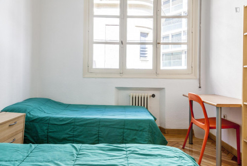 Twin bedroom in the south of Malasaña  - Gallery -  1