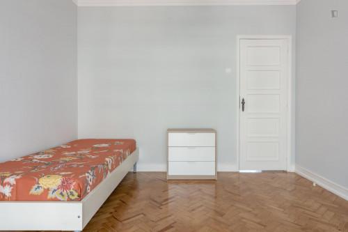 Wonderful and comfy single bedroom in Avenida de Roma  - Gallery -  2