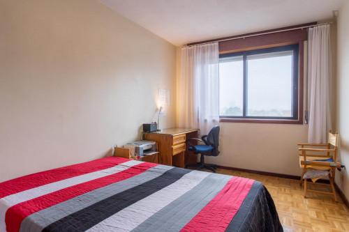 Welcoming double bedroom in a 3-bedroom flat, near Faculdade de Arquitectura da Universidade do Porto  - Gallery -  1